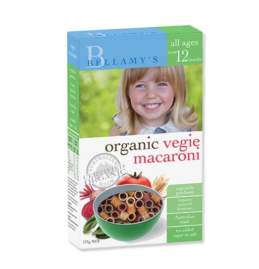 Organic Vegie Macaroni