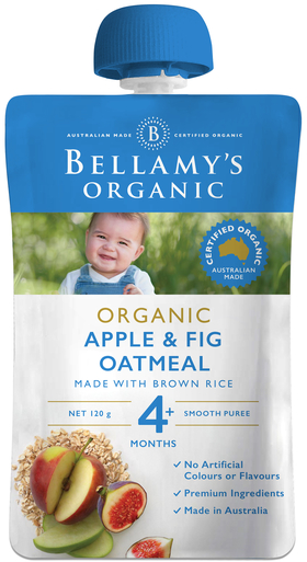 Apple & Fig Oatmeal