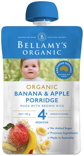 Banana & Apple Porridge