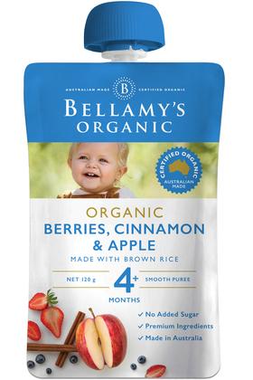 Berries, Cinnamon & Apple