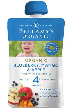 Blueberry, Mango & Apple