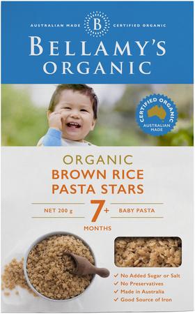 Brown Rice Pasta Stars