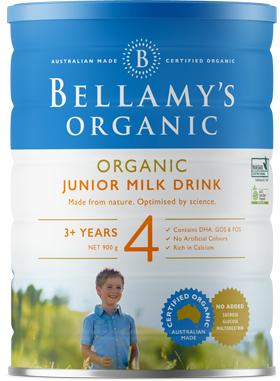 Step 4 Junior Milk drink