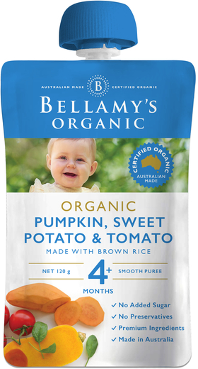 Pumpkin, Sweet Potato & Tomato