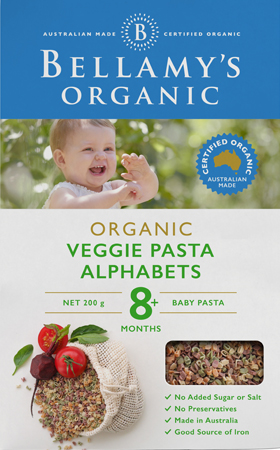 Veggie Pasta Alphabets