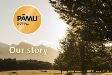 Pāmu – brand name of Landcorp Farming Limited, largest farming producer of New Zealand